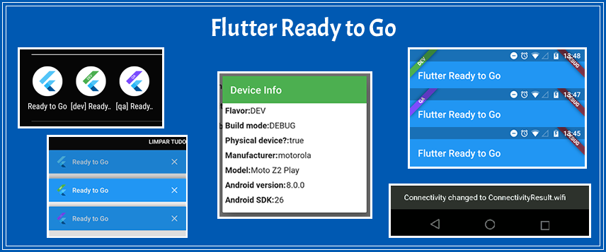 Flutter Ready to Go (flavors, connectivity and more) - Blog